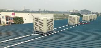 Quạt hơi nước công nghiệp công suất lớn giải pháp cho nhà kho